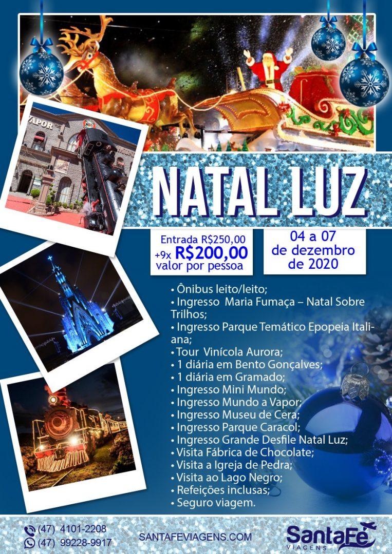 NATAL LUZ 04 A 07