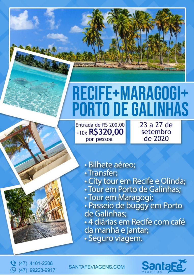 RECIFE + PORTO DE GALINHAS 23 A 27